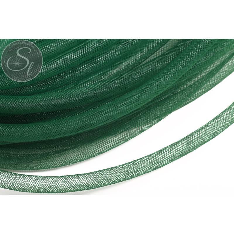 3 Meter dunkelgrüner Netzschlauch 8mm Bild 1