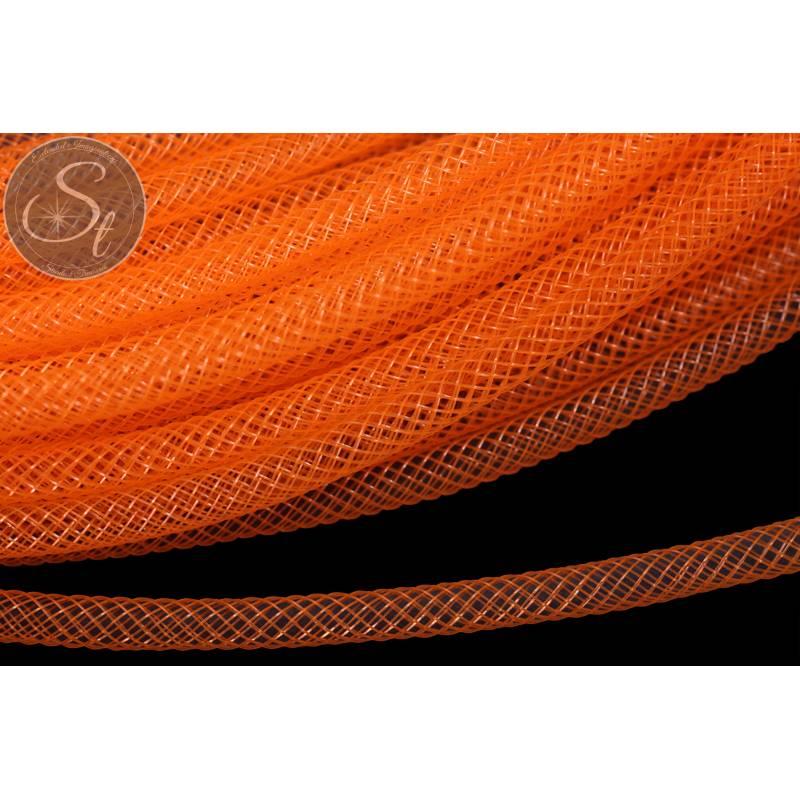 4 Meter oranger Netzschlauch 4mm Bild 1