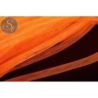 0,5 Meter oranger Netzschlauch 8mm Bild 1
