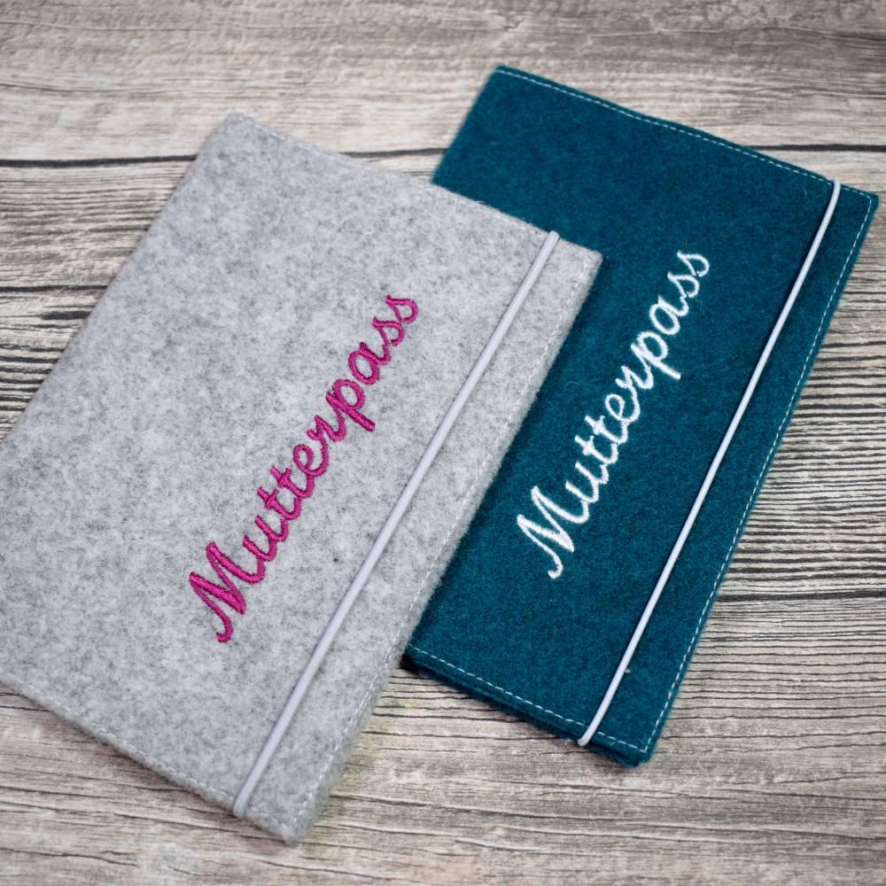"""Freebie  Mutterpass- / U-Hefthülle """"Ute"""" Bild 1"""