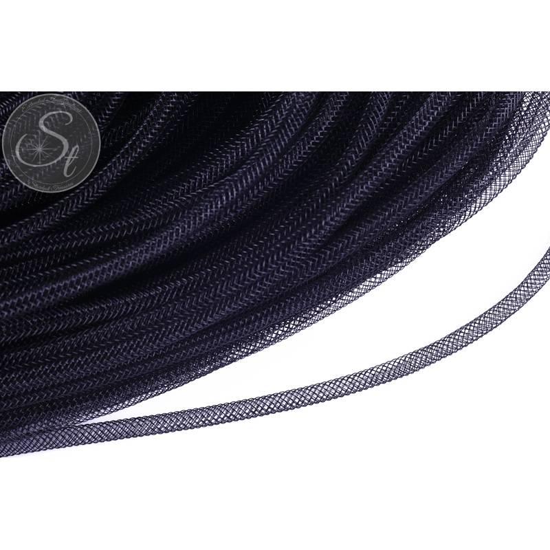 0,5 Meter schwarzer Netzschlauch 4mm Bild 1