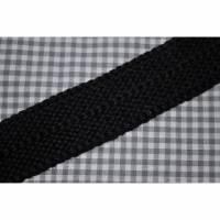 Einfaßband Schurwolle schwarz Bild 1