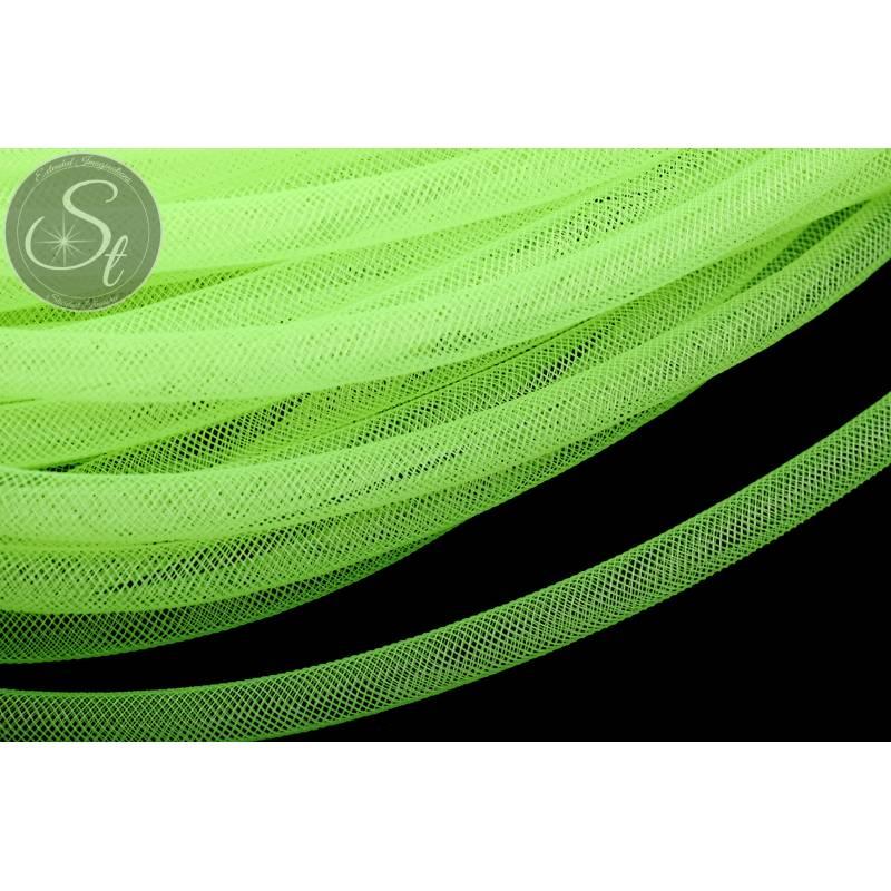 0,5 Meter neongrüner Netzschlauch 8mm Bild 1