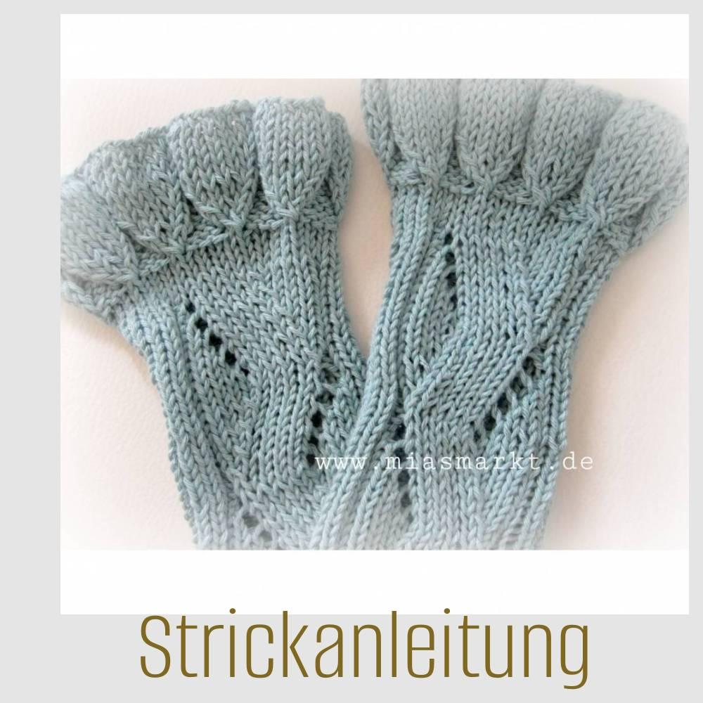ANLEITUNG  _  Stulpen | SOMMERLAUNE | PDF Bild 1