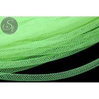 0,5 Meter neon grüner Netzschlauch 4mm Bild 1