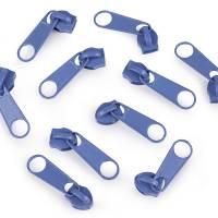 Endlos-Reissverschluss 5mm jeansblau inkl. 4 Zipper Reißverschluss-Meterware Bild 2
