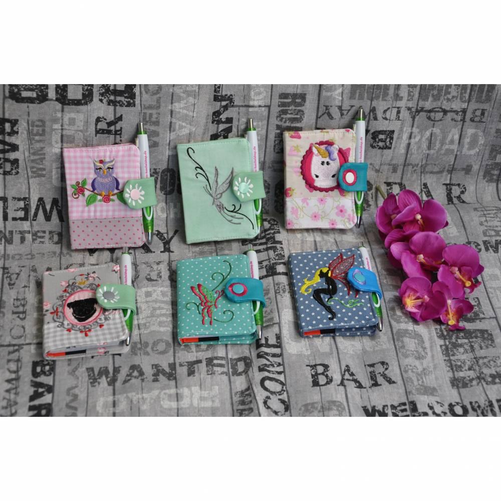 ♥♥✿✿  Notizbuchhüllen, verschiedene Motive, freie Farbwahl ♥♥✿✿ Bild 1