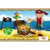 ECO Kinderbordüre: Kleiner Pirat - 15 cm Höhe Bild 1