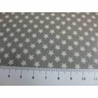 A.U Maison Wachstuch Oilcloth Star grey Oeko-Tex Standard 100   ( 1m/20,-€) Bild 1