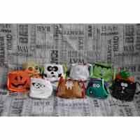 ☼♥☼ Kleine Halloween-Täschchen, verschiedene Motive ☼♥☼ Bild 1