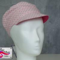 """Michel - Schirmmütze """"Pink Dots"""" Bild 1"""