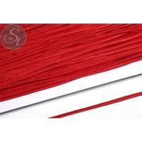 1m rotes Soutache-Band grob 3mm Bild 1