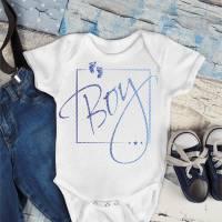 Bügelbild Set Baby Boy, mehrfarbig inklusive Label Bild 2