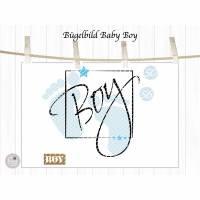 Bügelbild Set Baby Boy, mehrfarbig inklusive Label Bild 3