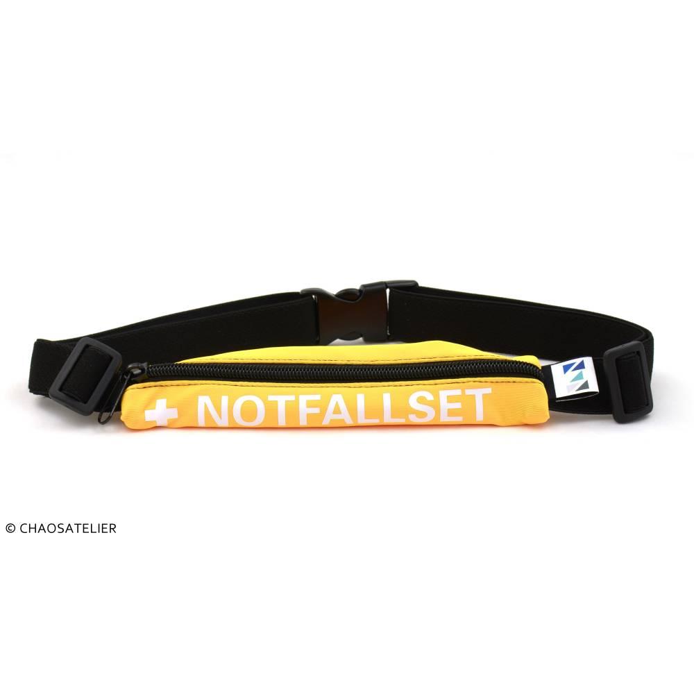 """KURT, der Bauchgurt """"NOTFALLSET"""" - gelb Bild 1"""