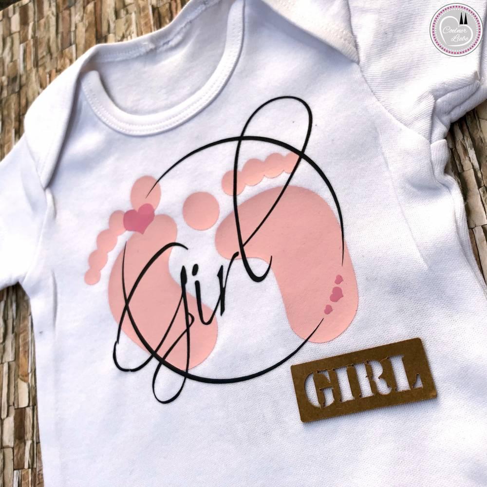 Bügelbild Set Baby Girl, mehrfarbig inklusive Label Bild 1