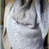 Strickanleitung Lizas Tuch Wintersüße Bild 8