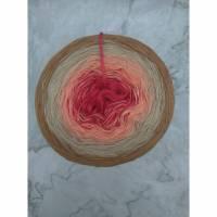 Farbverlaufsgarn, Bobbel, Wolle, Verlaufsgarn, 3 fädig Bild 1