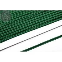 1m dunkelgrünes Soutache-Band fein 3mm Bild 1