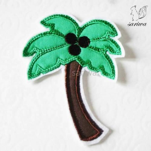 Palme -- Aufnäher in verschiedenen Größen (S-XL) -- Bügelbild -- Applikation zum Aufbügeln