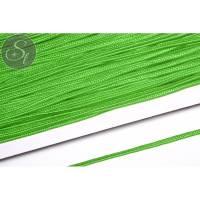 1m gelbgrünes Soutache-Band grob 3mm Bild 1