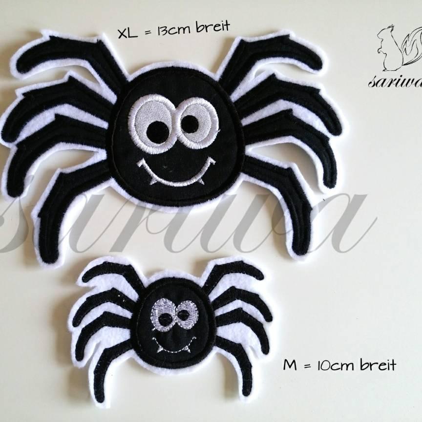 Spinne, Aufnäher in verschiedenen Größen (S - XL) Bild 1