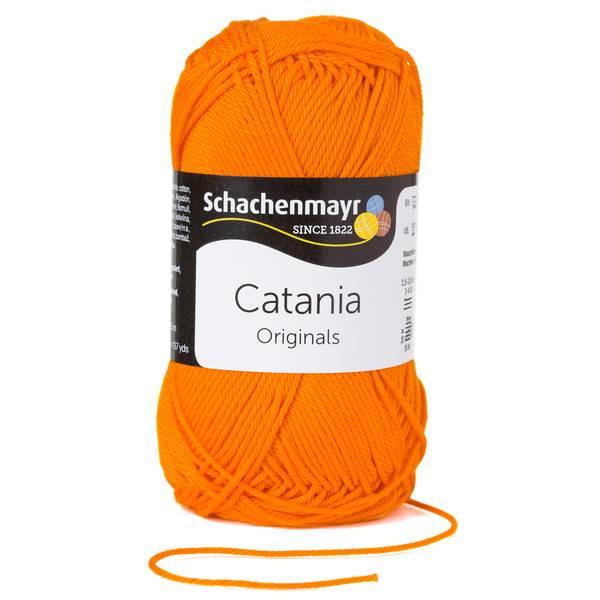 (€4,20/100g) Schachenmayr Catania 50g FB 281 orange Bild 1