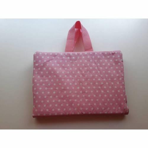 Maltasche Zeichentasche Malmappe rosa