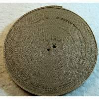 Gurtband beige  20 mm Bild 1