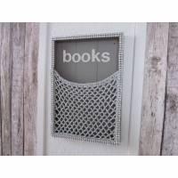 """Aufbewahrungsnetz """"books"""" glam Bild 1"""