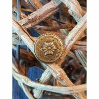 Jeansknopf 17mm gold 9 Bild 1