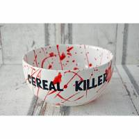Müslischale - Schale Cereal Killer, 700ml, Keramik handbemalt Bild 1