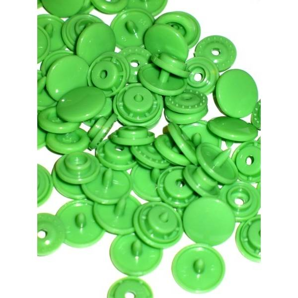 KamSnaps T5 20er - Set grasgrün B14 glänzend Bild 1