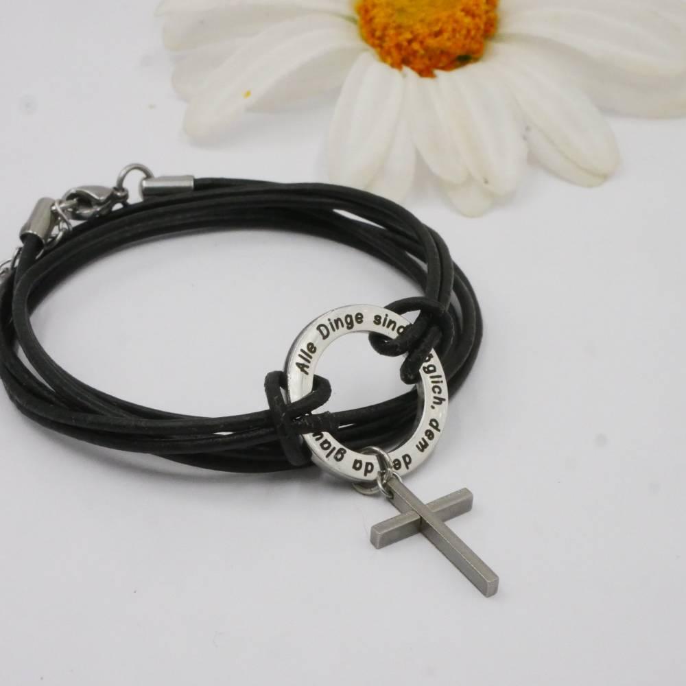 Ring des Glaubenseinmal anders, Konfirmation oder Lebensmotto Bild 1