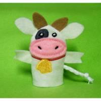Fingerpuppe Kuh Bild 1