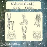 "Digitale Stickserie Little GEO 10x10 (4x4"") Stickrahmen"