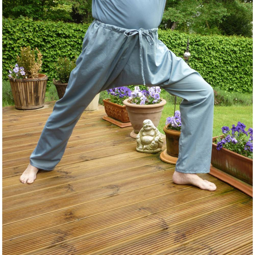 "Yogahose ""Anjaneyasana"", Sporthose, Wohlfühlhose Bild 1"