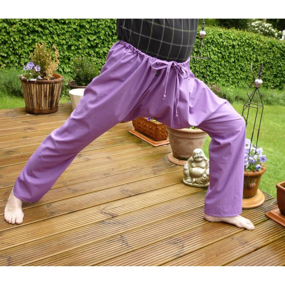 """Yogahose """"Spagat"""", Sporthose, Pluderhose Bild 1"""