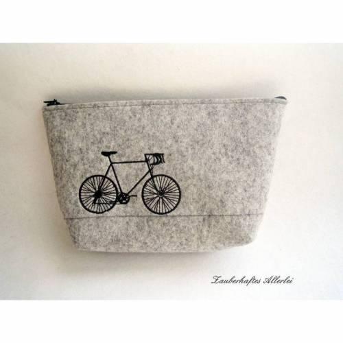 Kulturbeutel Mann, Fahrrad