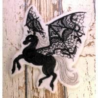 Applikation gestickt Pegasus Aufnäher Bild 1
