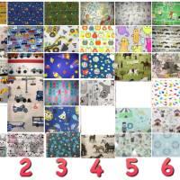 Baby Fotobuch mit Namen, personalisiertes Fotoalbum aus Baumwolle, Babys erstes Bilderalbum Bild 5