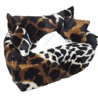 Taschentuchsofa - Giraffe -  Bezug für Kosmetikbox Bild 1