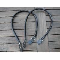 Taschengriff / Taschenhenkel dunkelbraun 70 cm Bild 1