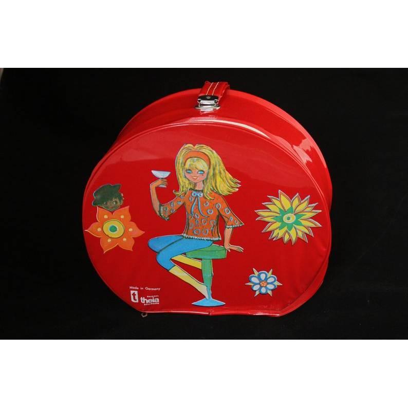 Puppenkoffer Theia Spielwaren 60er Jahre Bild 1