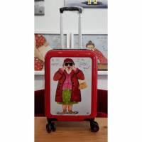 """Koffer ( Trolley)    """"Hab mich umgesehen....bin die Geilste hier"""" Bild 1"""