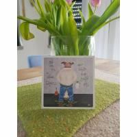 """Postkarte """"Setz dich hin du kleines Schwein....."""" Bild 1"""