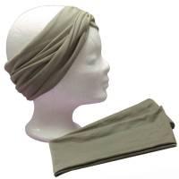 Turban Haarband Frauen Stirnband Jerseyhaarband zum Wickeln Bild 1