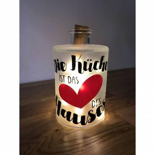 """Flaschenlicht """"Herz des Hauses"""""""
