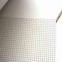 """Notizbuch Hardcover Blanko stoffbezogen """"Rose Bouquet/Light Blue"""" ähnlich A5 17,5x23 cm Schmetterling Geschenk Bild 4"""