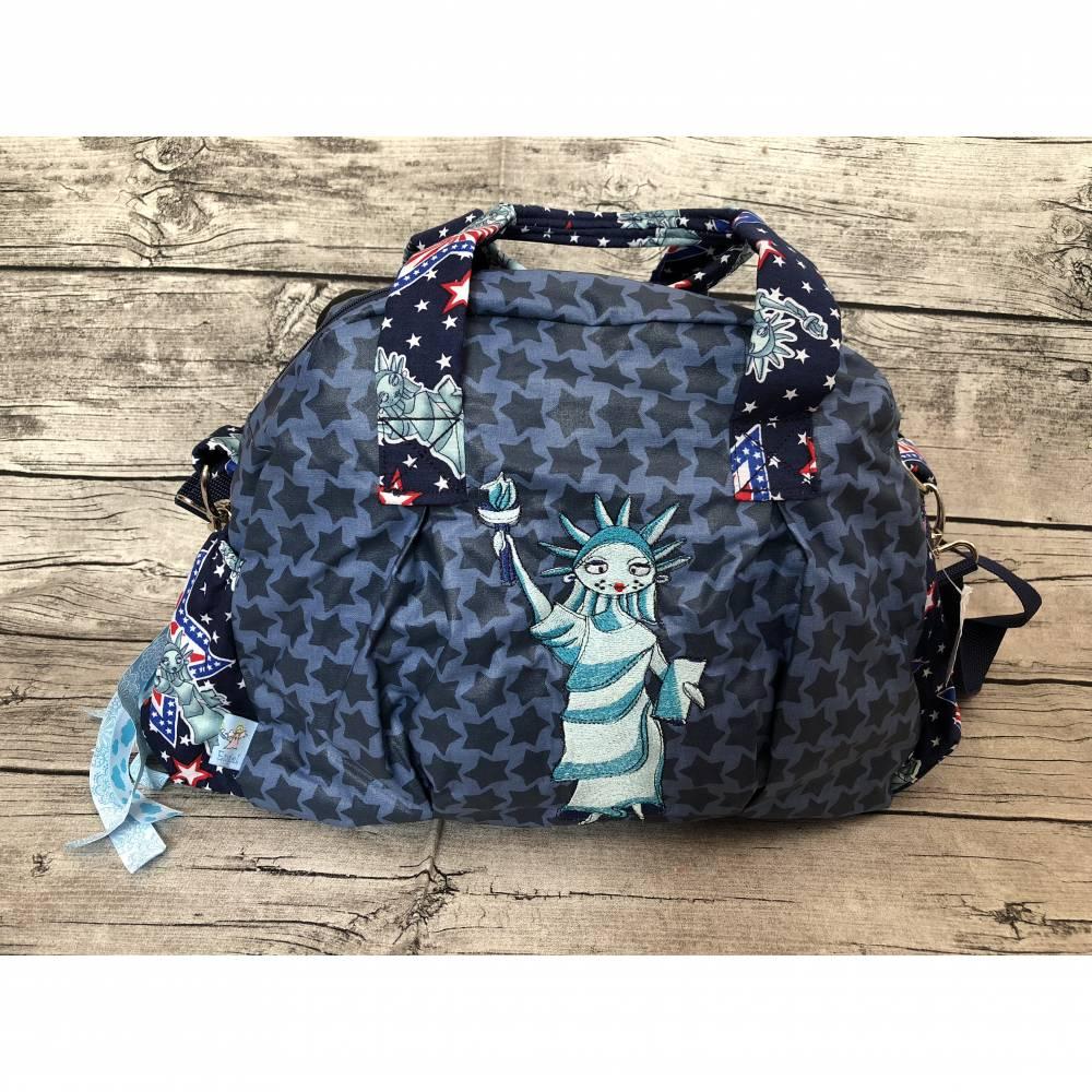 wunderschöne Kugeltasche Handtasche ~ Miss Liberty ~ Tasche Bild 1